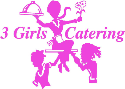 3 girls catering logo